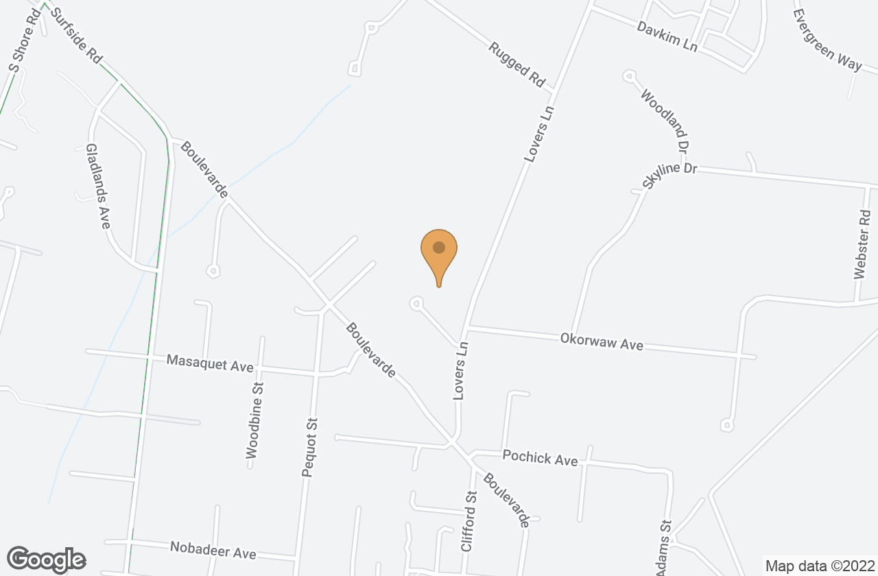 Google Map of 5 White Street, Nantucket, MA, USA
