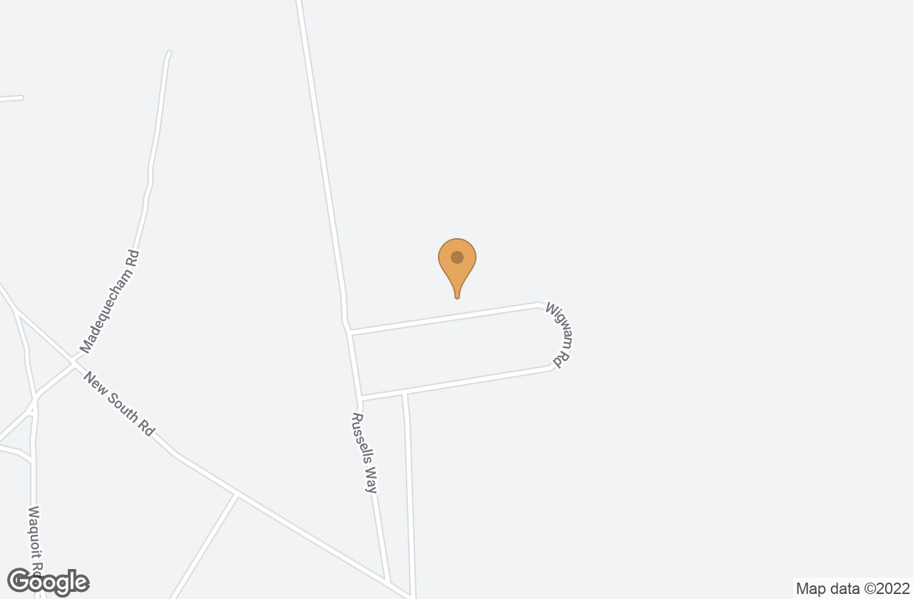 Google Map of 10 Wigwam Rd