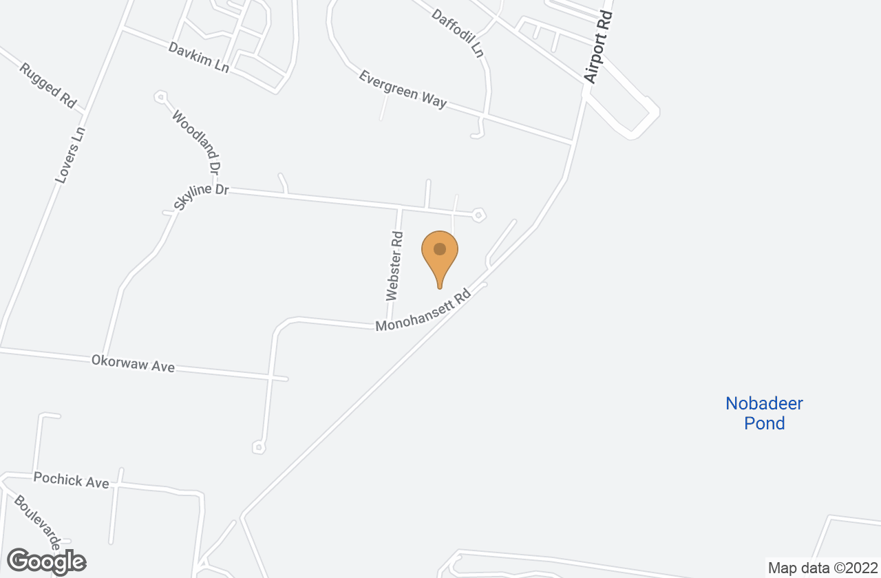 Google Map of 38  Monohansett Road, Nantucket, MA, USA