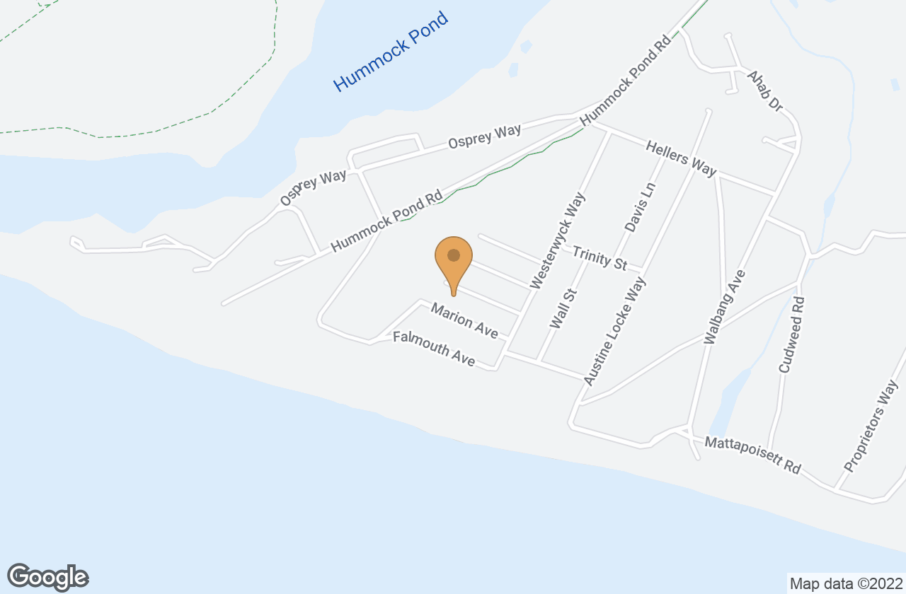 Google Map of 8 Mattapoisett Ave