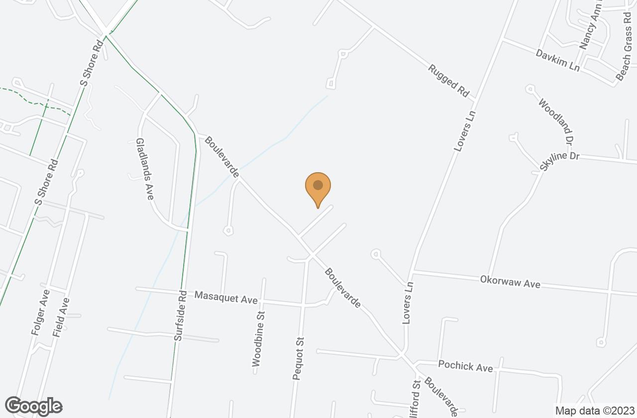 Google Map of 22 Boulevarde, Nantucket, MA, USA
