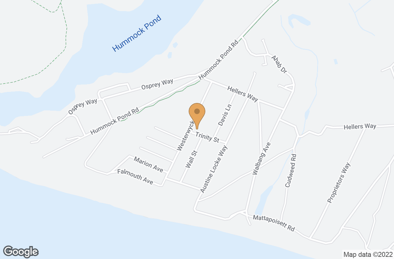 Google Map of 12 Westerwyck Way, Nantucket, MA, USA