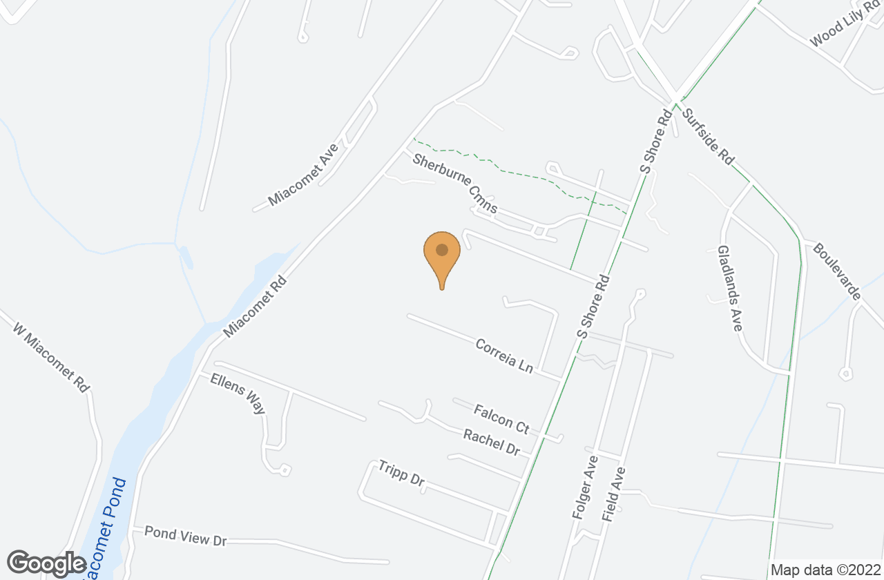 Google Map of 15 Corriea Lane (Vacant Lot), Nantucket, MA, USA