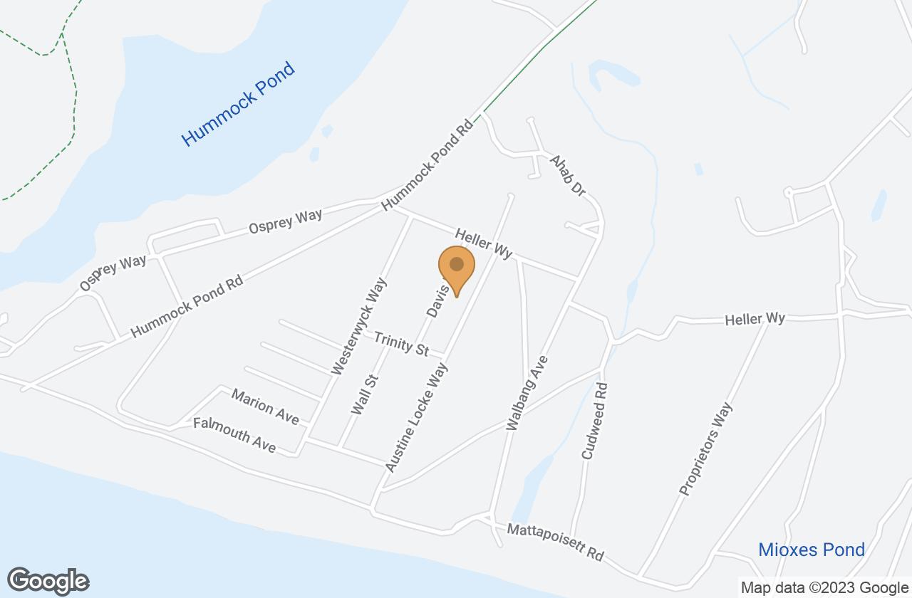 Google Map of 6 Davis Lane
