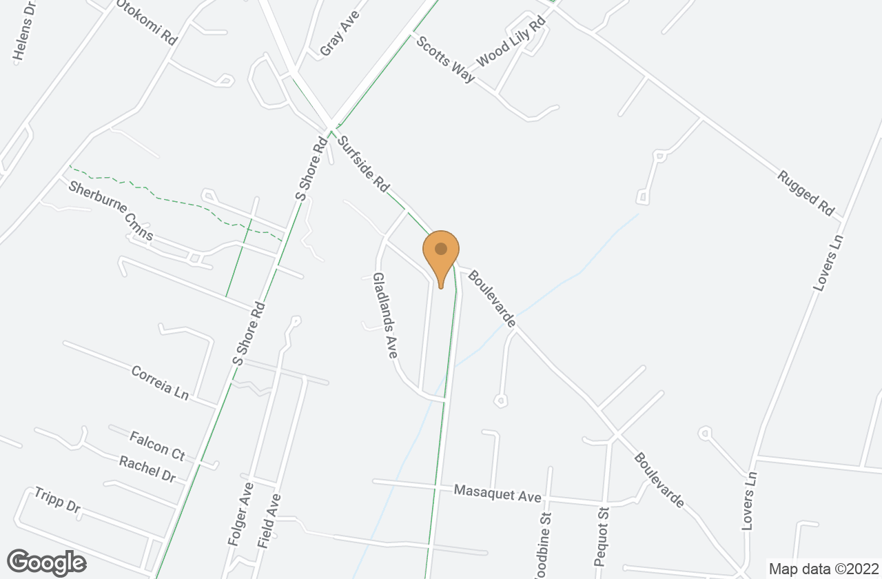 Google Map of 111 Surfside Road, Nantucket, MA, USA