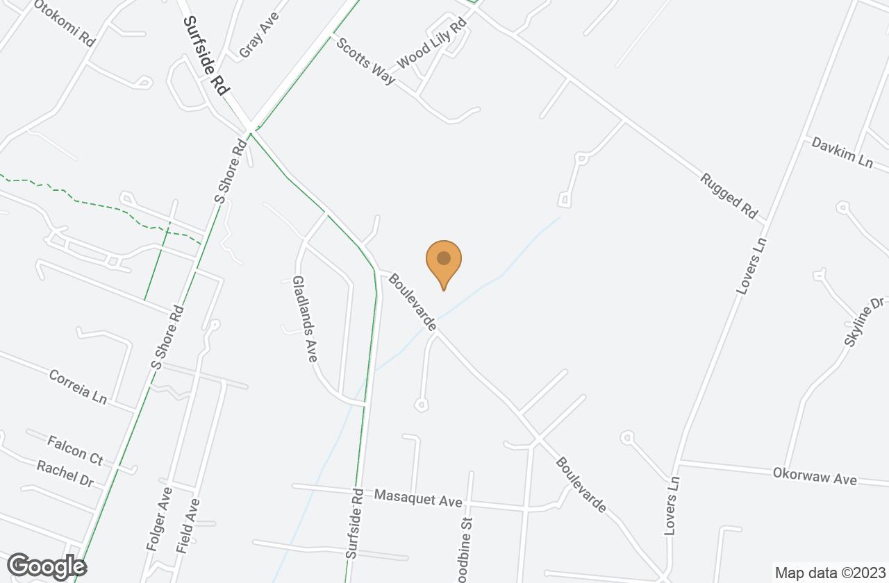 Google Map of 6 Boulevarde, Nantucket, MA, USA
