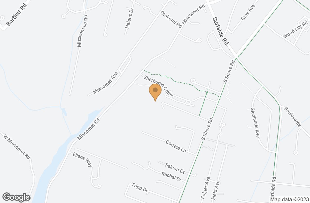 Google Map of 14 South Pasture Lane