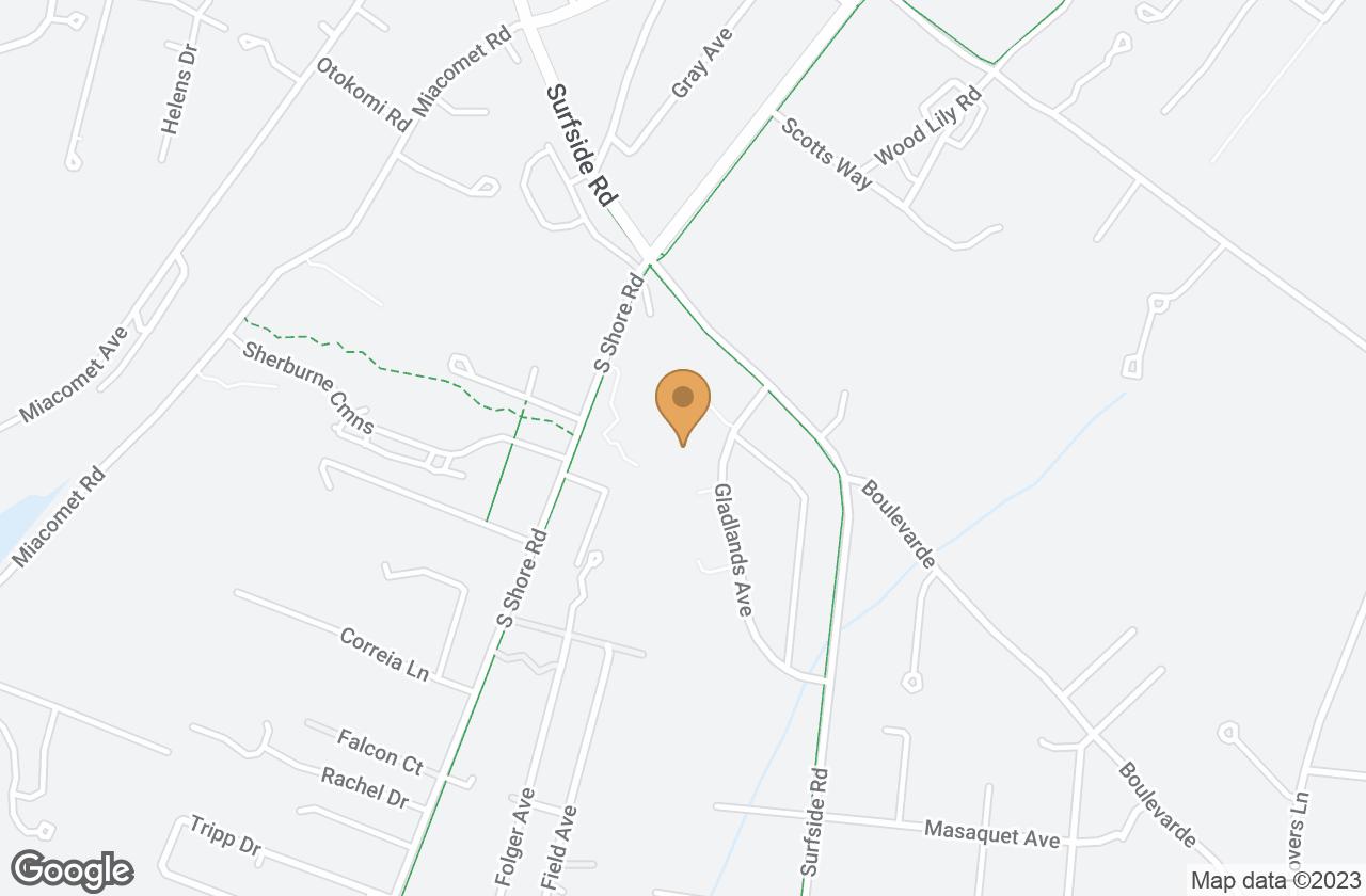 Google Map of 20 Gladlands Avenue, Nantucket, MA, USA