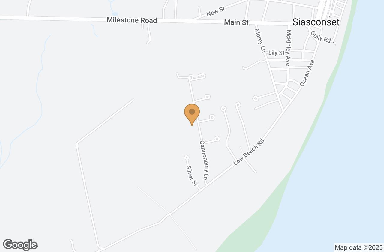Google Map of 24 Cannonbury Lane, Nantucket, MA, USA
