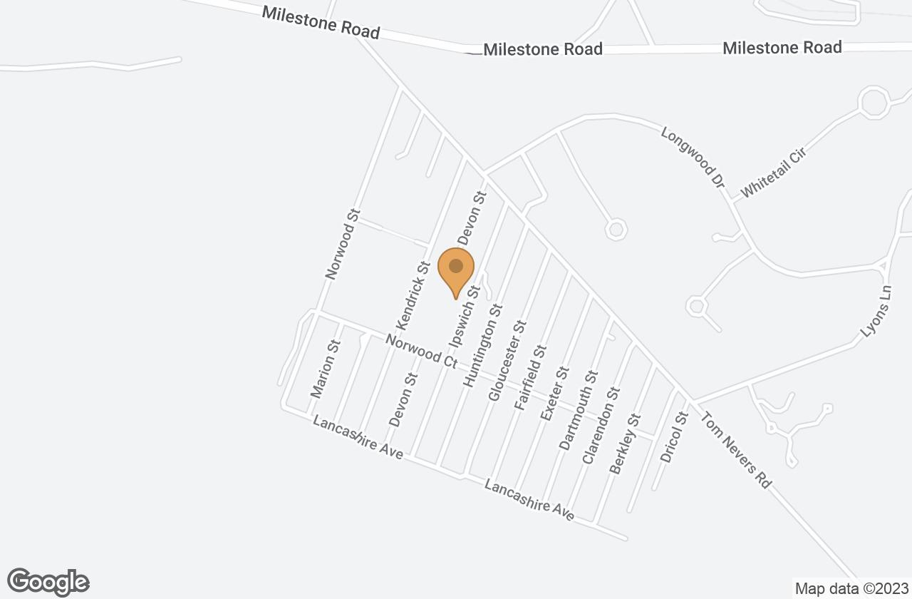Google Map of 17 Ipswich St