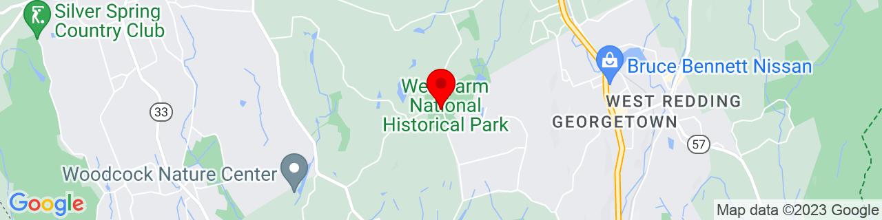Google Map of 41.2568016052246, -73.4564971923828