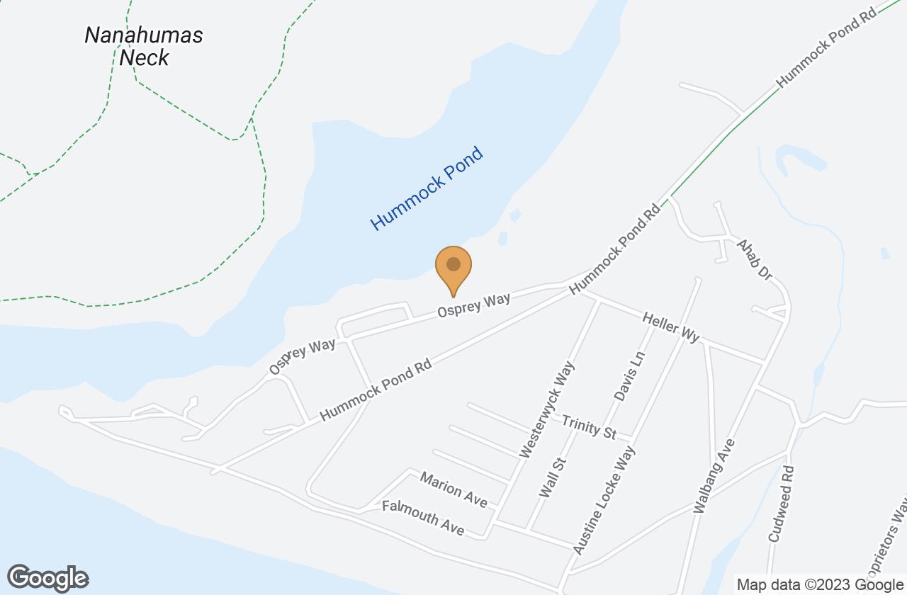 Google Map of 5 Osprey Way, Nantucket, MA, USA