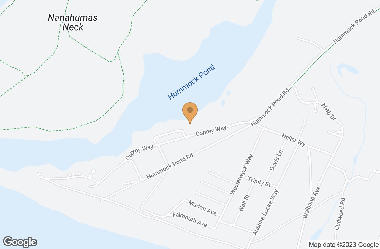 Google Map of 11 Osprey Way, Nantucket, MA, USA
