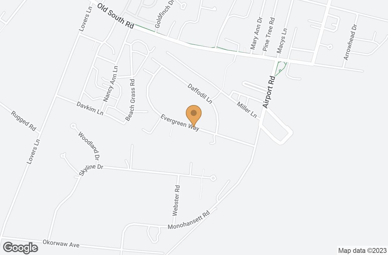 Google Map of 8.5 Evergreen Way, Nantucket, MA, USA