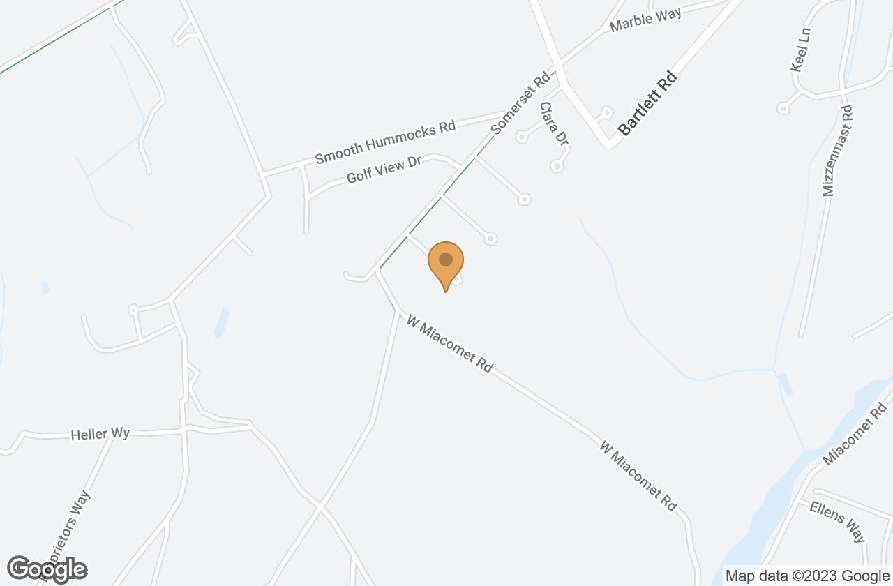 Google Map of 11 Swayze's Dr