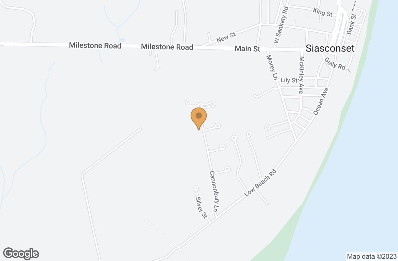 Google Map of 32 Cannonbury Lane, Nantucket, MA, USA