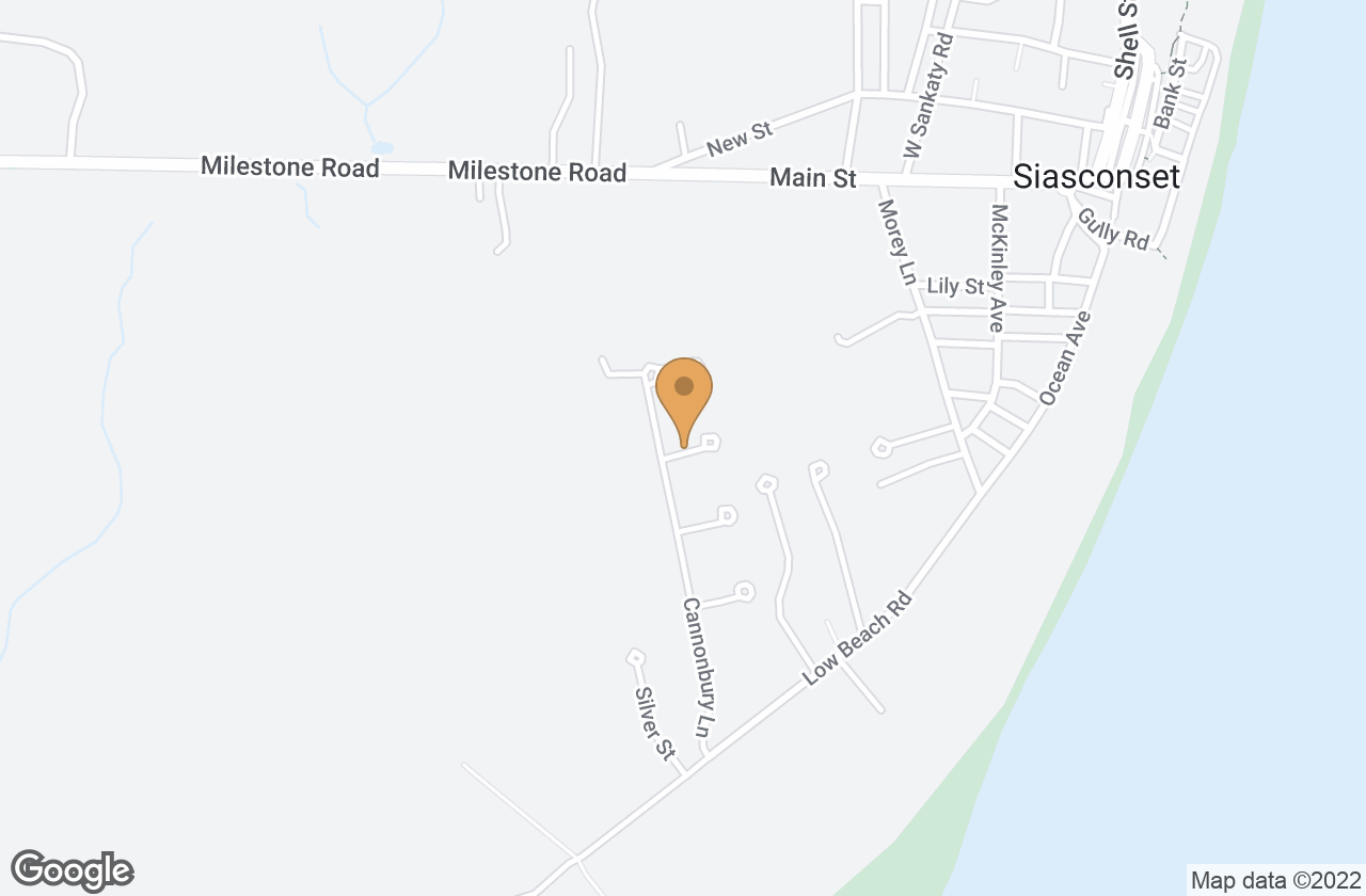 Google Map of 20 Cannonbury Lane, Nantucket, MA, USA