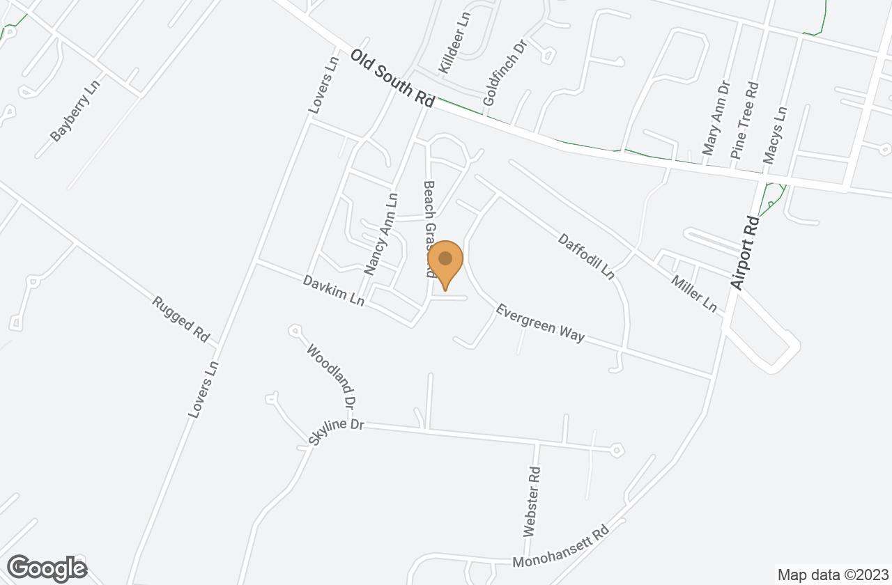 Google Map of 26B Evergreen Way, Nantucket, MA, USA