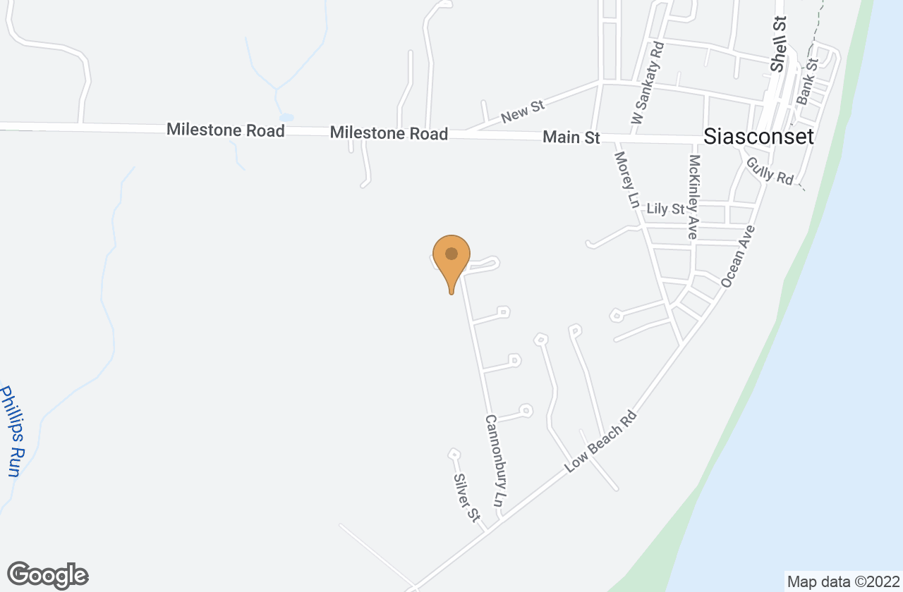 Google Map of 38 Cannonbury Lane, Nantucket, MA, USA