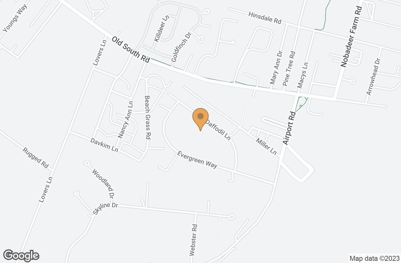 Google Map of 12B Daffodil Lane, Nantucket, MA, USA