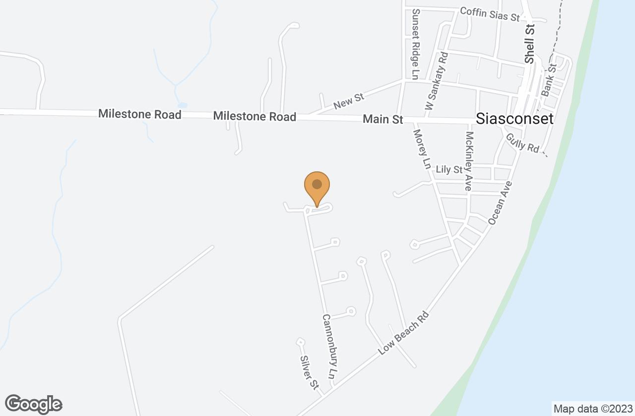 Google Map of 5 Westerwick Drive, Nantucket, MA, USA