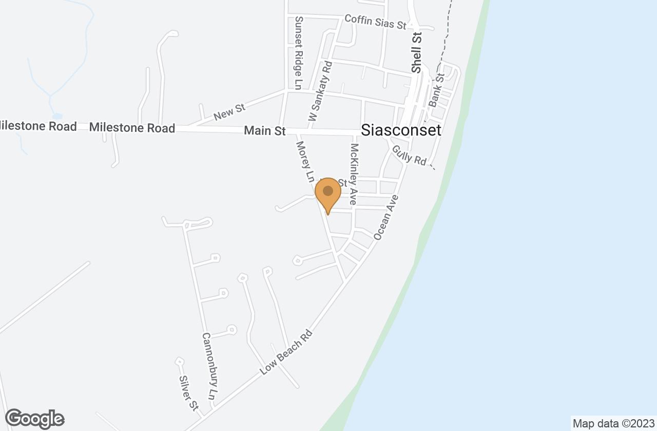 Google Map of 10 Everett Lane, Nantucket, MA, USA