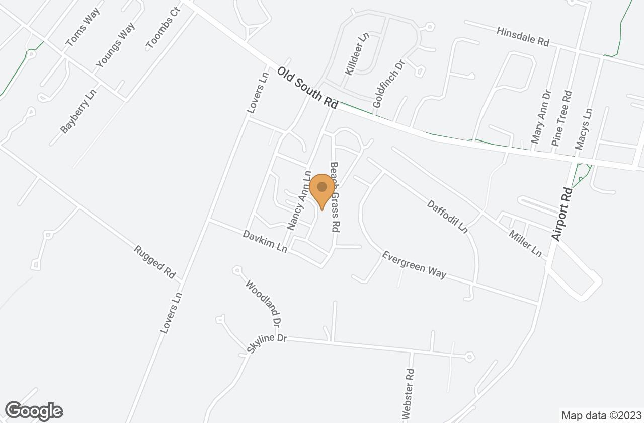 Google Map of 27 Beach Grass Road, Nantucket, MA, USA