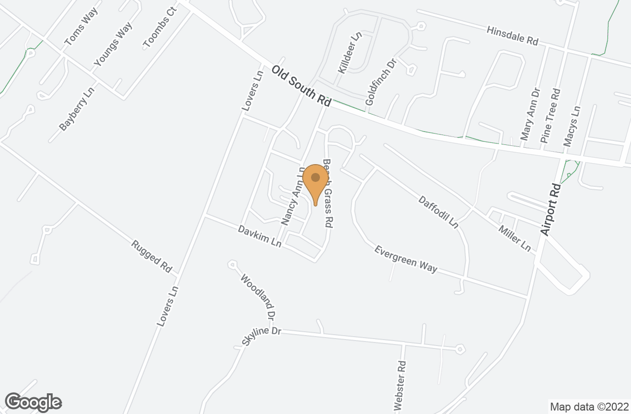 Google Map of 11 Beach Grass Road (Lot 64), Nantucket, MA, USA