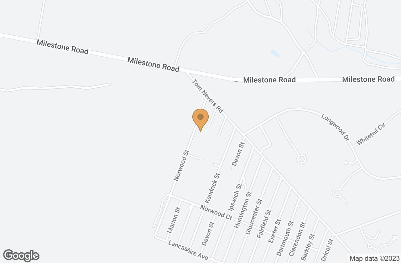 Google Map of 14 Norwood St