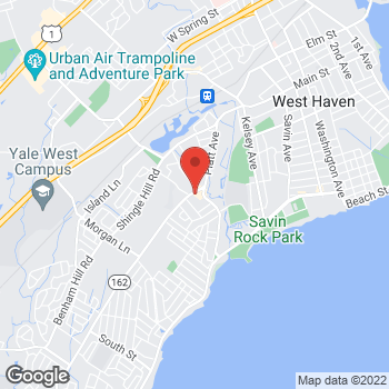 Map of Santander Bank ATM at 844 Jones Hill Rd, West Haven, CT 06516