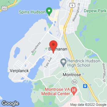 Map of Optimum WiFi Hotspot at 220 Tate Ave, Buchanan, NY 10511
