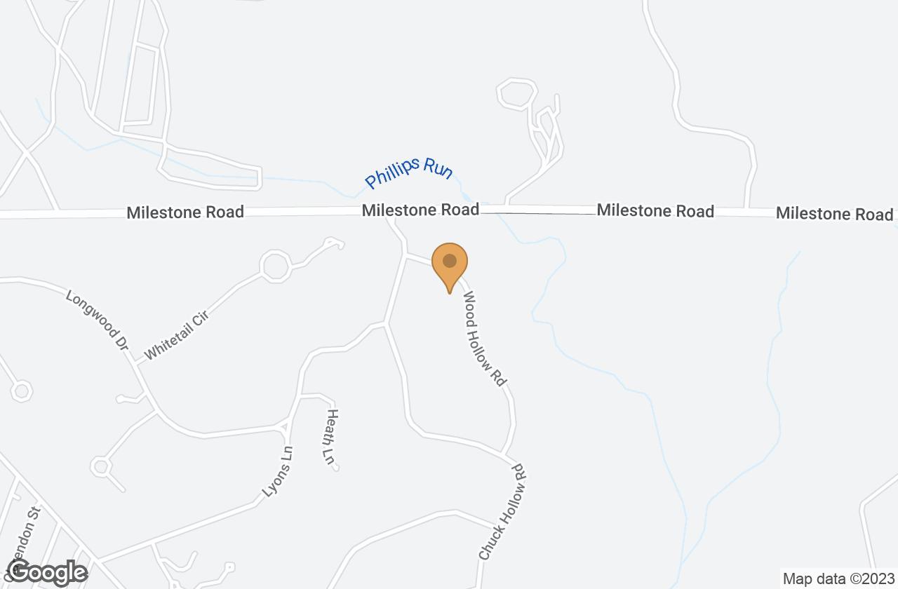 Google Map of 5 Wood Hollow Road, Nantucket, MA, USA