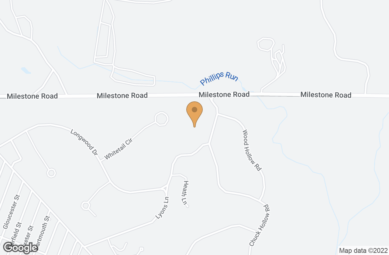 Google Map of 5R Chuck Hollow Rd