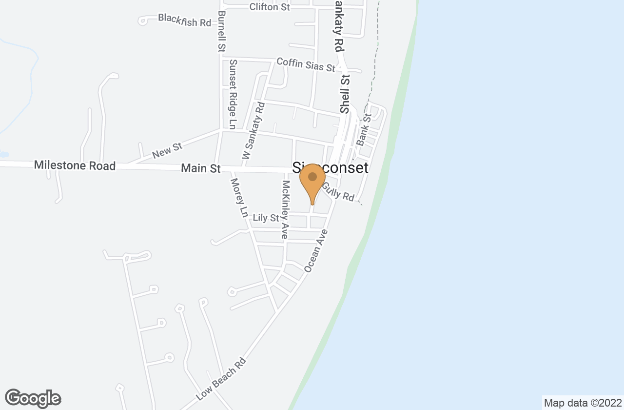 Google Map of 8  Grand Avenue, Nantucket, MA, USA