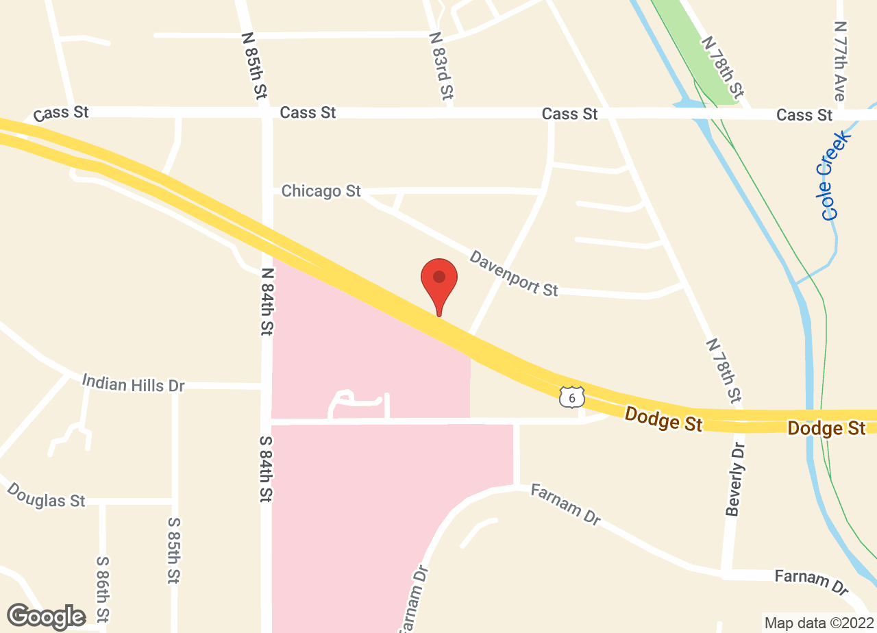 Google Map of VCA 80 Dodge Animal Hospital