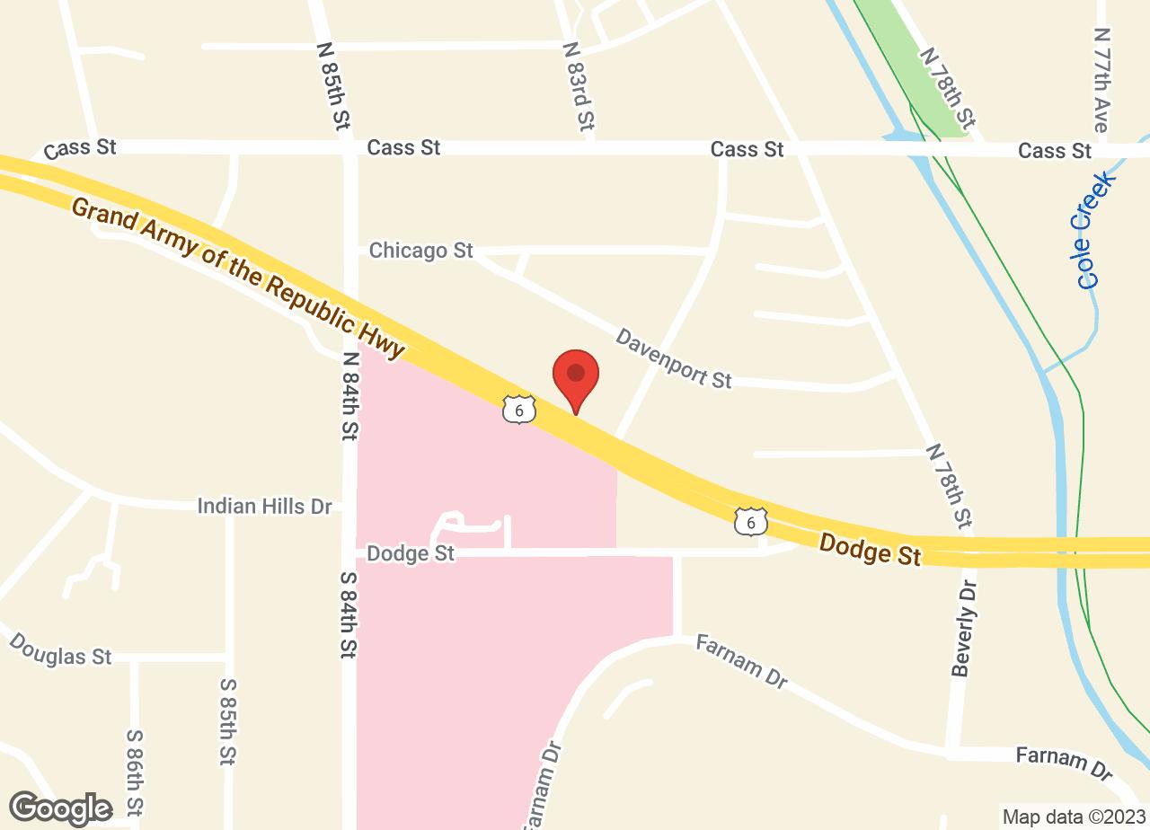 Google Map of VCA 80 Dodge Animal Hospital