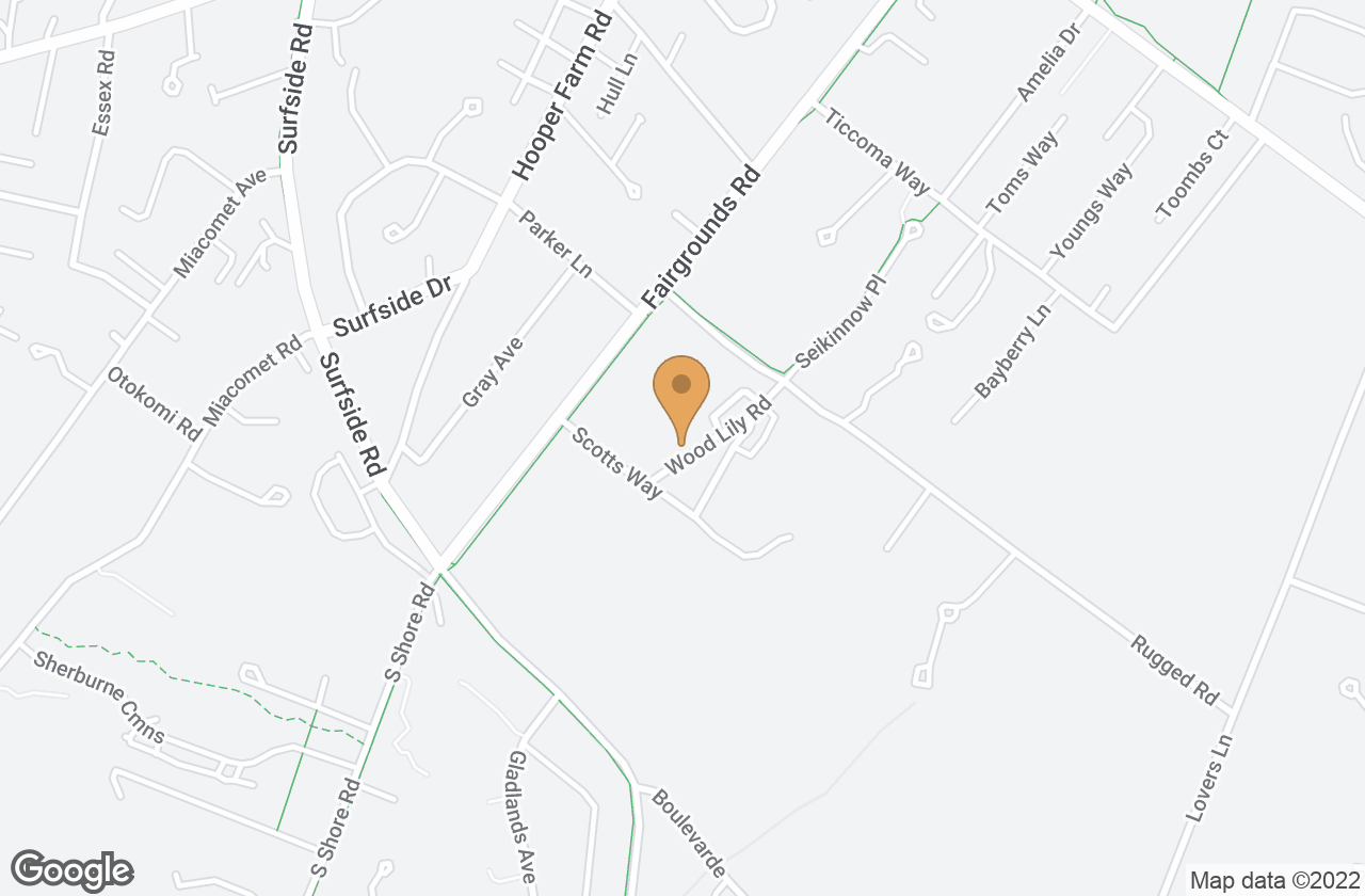 Google Map of 3  Wood Lily Road, Nantucket, MA, USA