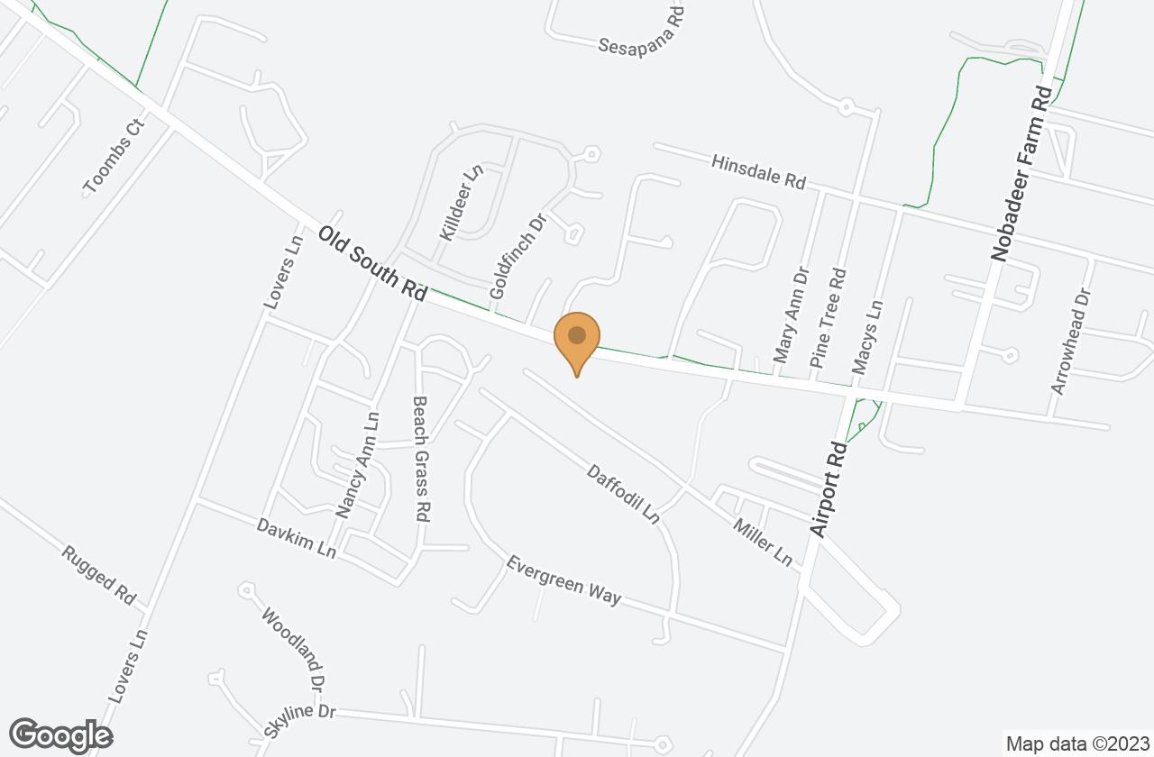 Google Map of 11 Miller Lane, Nantucket, MA, USA