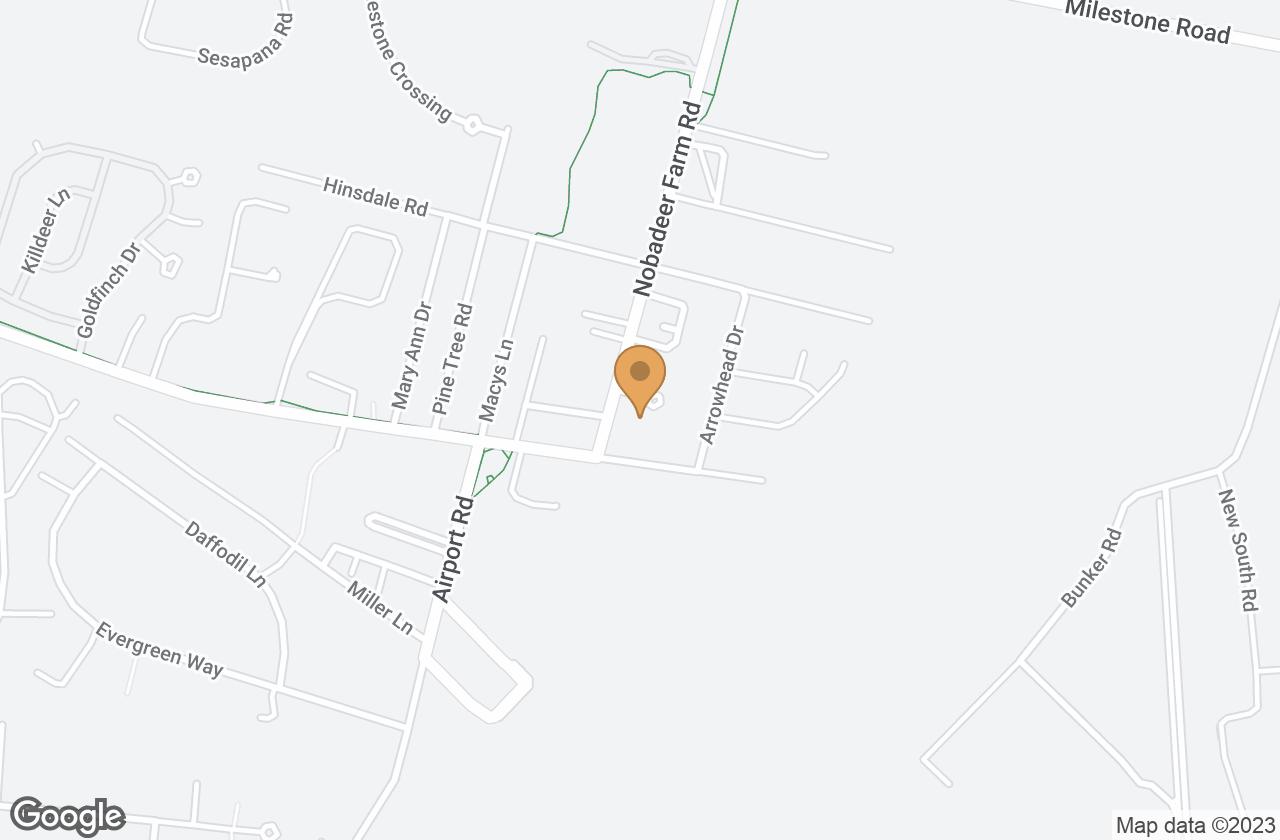 Google Map of 3 Square Rigger Road, Nantucket, MA, USA
