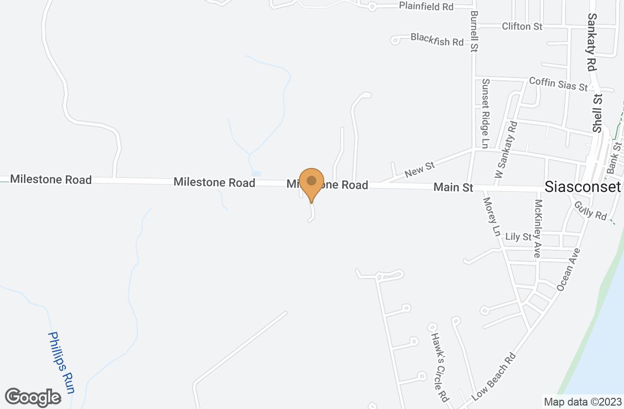 Google Map of 2 Seven Mile Lane, Nantucket, MA, USA