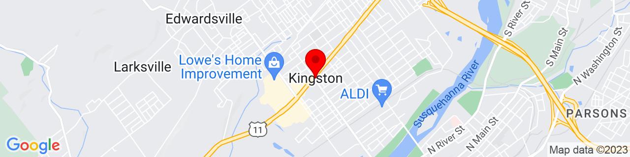 Google Map of 41.26166666666666, -75.89694444444446