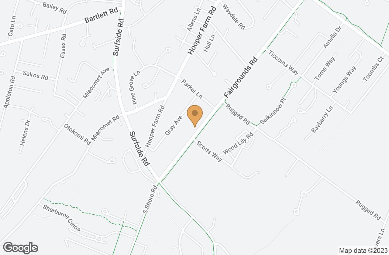 Google Map of 1 Nautilus Lane - Cottage