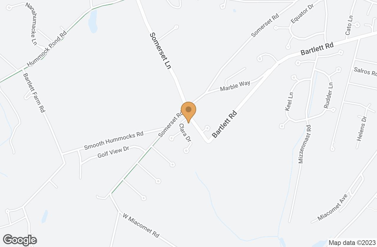 Google Map of 3 Raceway Drive, Nantucket, MA, USA