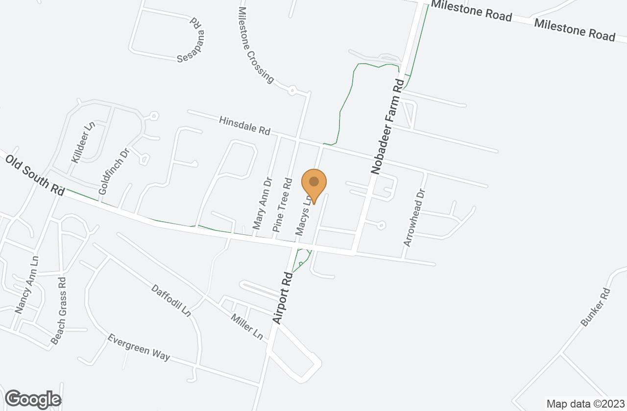 Google Map of 15 Macys Lane, Nantucket, MA, USA