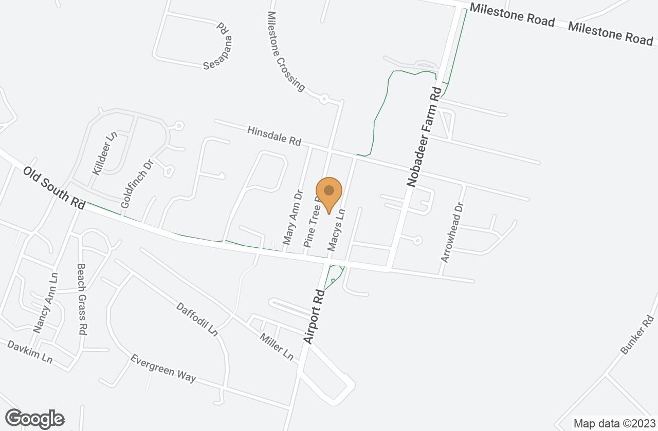 Google Map of 20 Macys Lane, Nantucket, MA, USA