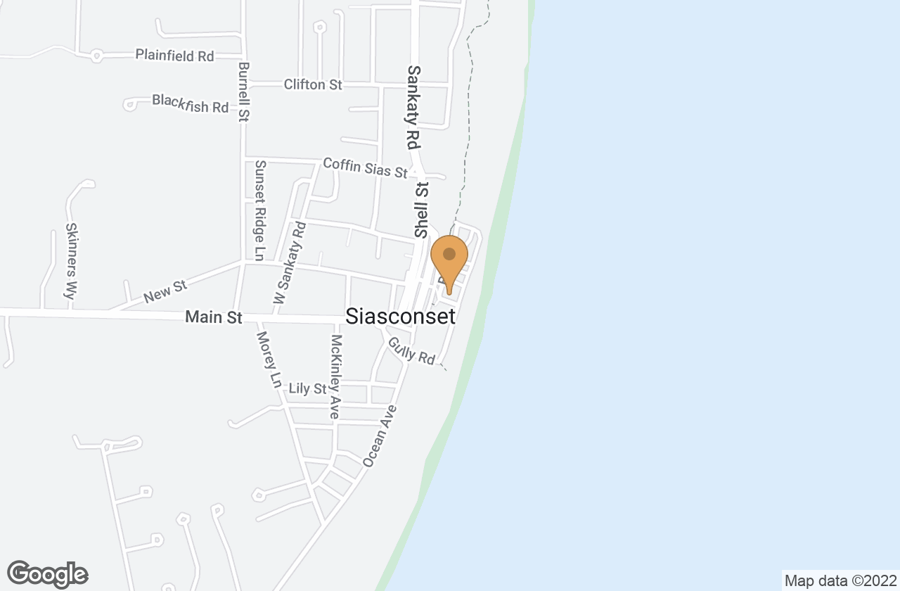 Google Map of 11 Beach Street, Nantucket, MA, USA
