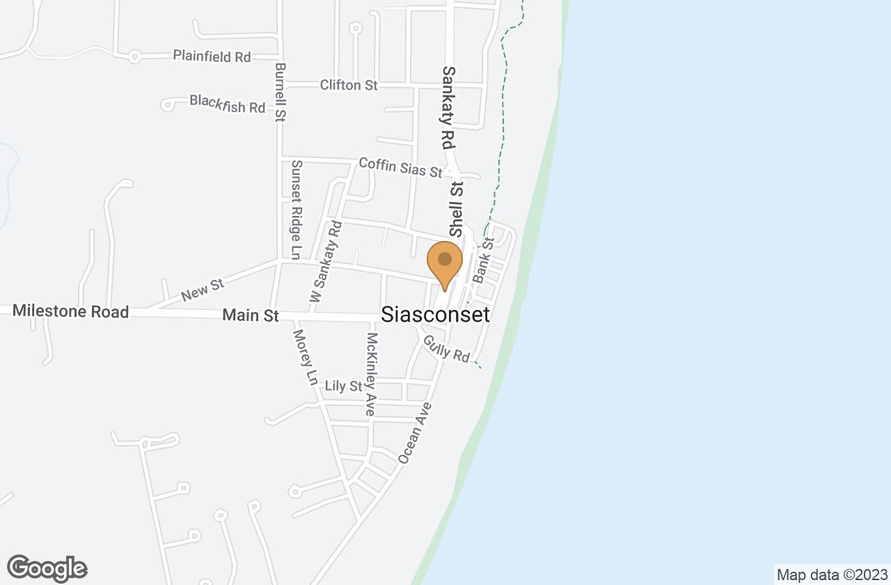 Google Map of 6 Center Street, Nantucket, MA, USA
