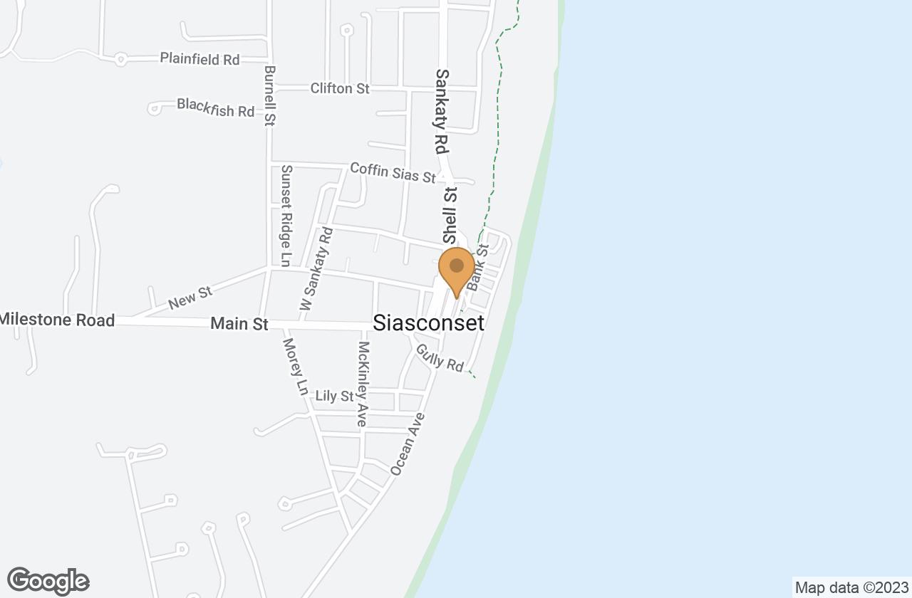 Google Map of 9 Broadway & 9 Front St, Nantucket, MA, USA