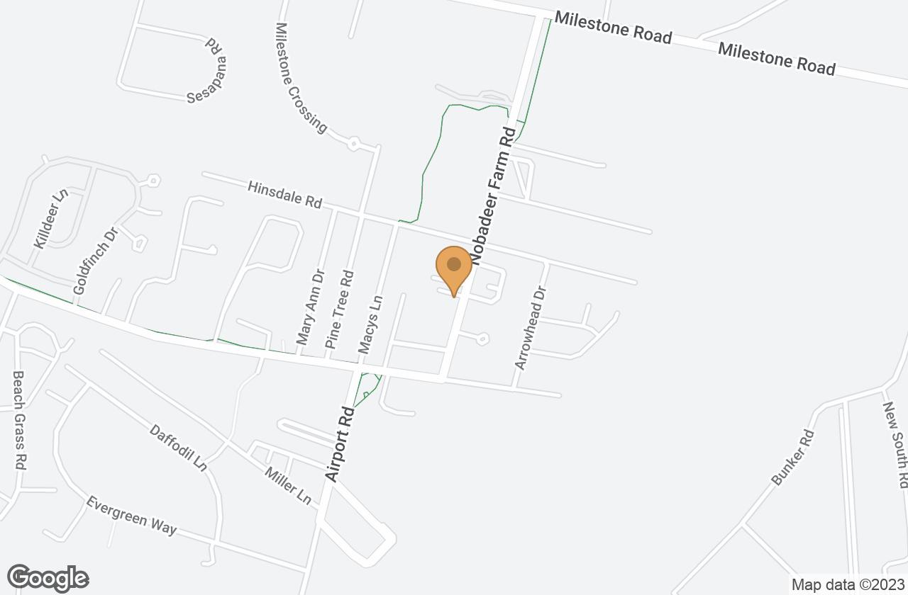 Google Map of 2A Yawkey Way, Nantucket, MA, USA