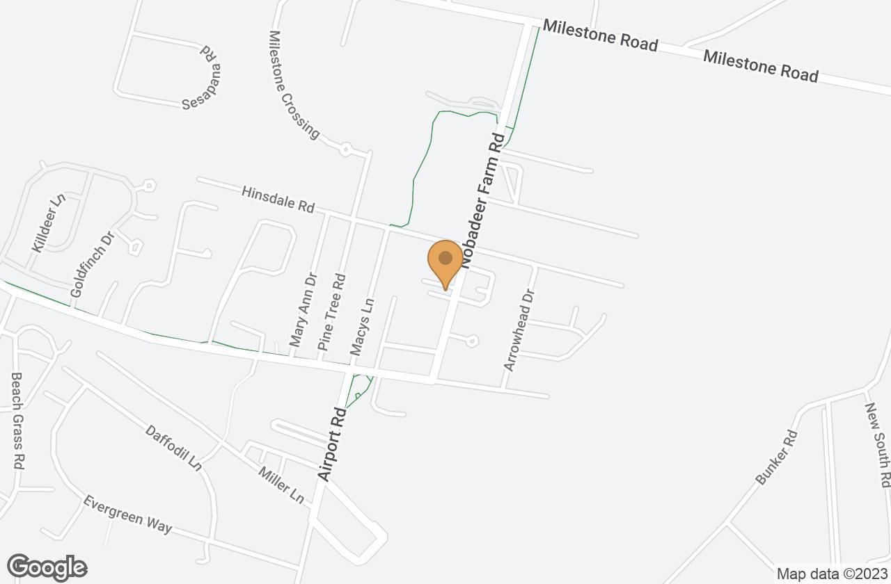 Google Map of 1 Yawkey Way, Nantucket, MA, USA